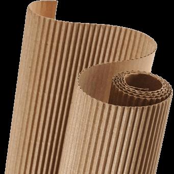 Как производится гофрированный картон?