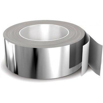 Лента клейкая алюминиевая 50×50