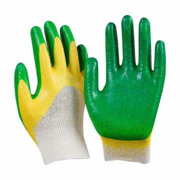 Перчатки Х/Б латексный облив