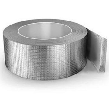 Алюминиевая армированная клейкая лента скотч 50×50