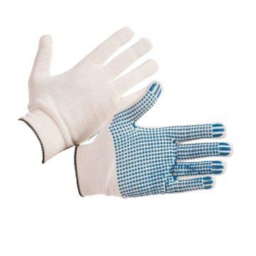 Перчатки ХБ с ПВХ «Точка»